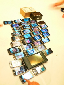 """iPhone Party"" by Nobihaya on Flickr"