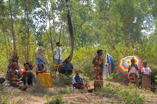 Women for Women Int'l: a group of graduates who have formed a farm collective in Kyonza, rwanda