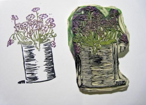 Flowerbucket Stamp