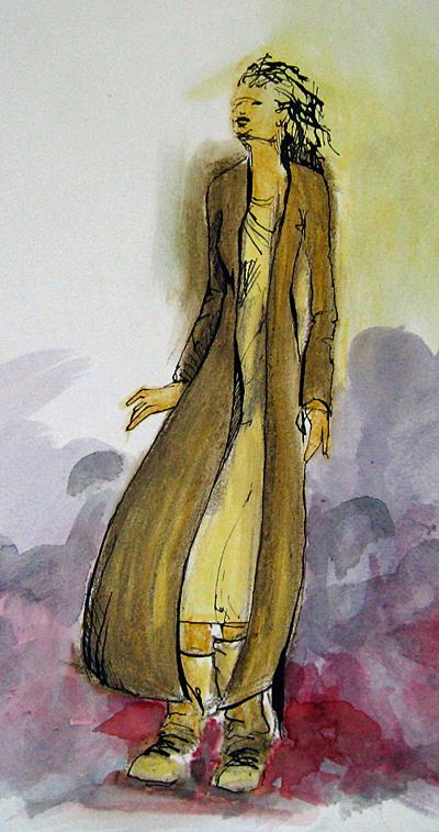 Long Jacket detail