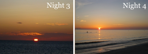 Sunsets Night 4&5