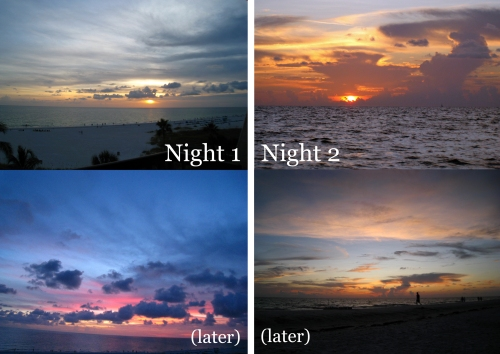 Sunsets Nights 1&2