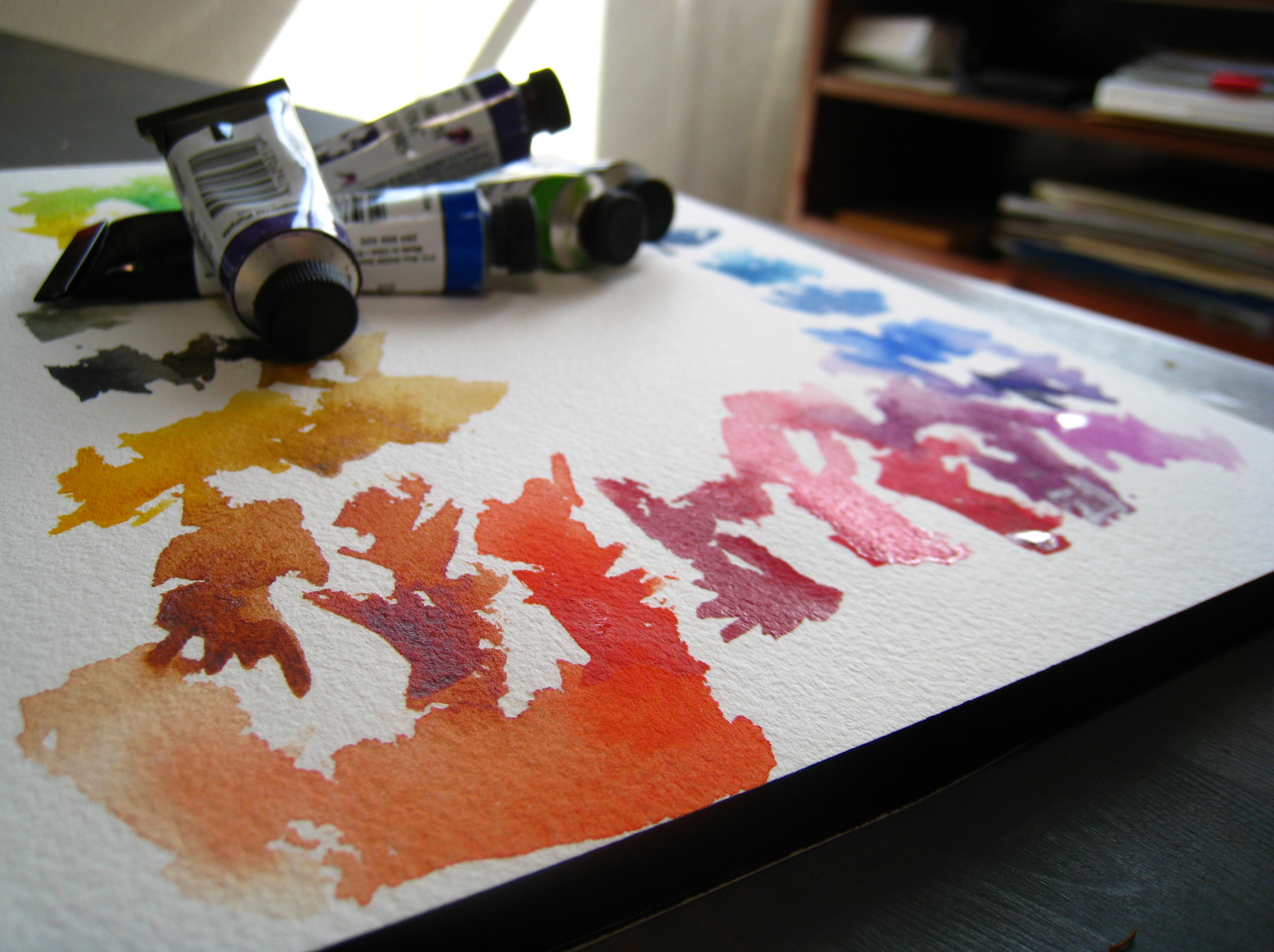 Watercolour Palette Winsor Newton I