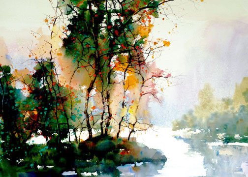 A sprinkling of watercolor artists the orchard for Best art websites for artists